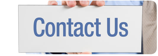 Sign stating contact us